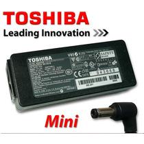 Cargador Adaptador Para Portatil Toshiba Mini 19v 1.58a V85