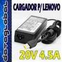 Cargador 20v 4.5a 90w Para Thinkpad Lenovo X1 Edge- Cuadrada