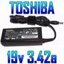 Cargador Nuevo Para Toshiba Y Gateway 19v 3.42a