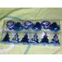 Adornos Navideños Metalizados X6 Navidad Bolas Para El Arbol