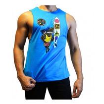 Camiseta Camisilla Sin Mangas Importada Gimnasio Gym