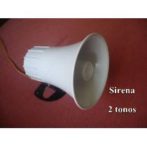 Sirena Para Alarma De 12 Voltios Y Dos Tonos