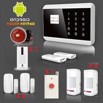 Alarma Gsm Con Aplicacion Android, 2014, 6 Sensores.