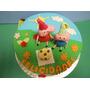 Torta Peppa Pig 30 Personas Decoración 3