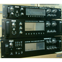 Amplificador Spain Sa 52 87 1007 Usb Con Tuner
