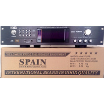 Amplificador Tuner De 1500 Wats Usb Bluetooth