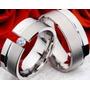 Argollas Para Matrimonio En Plata 9.50 Con Zircones
