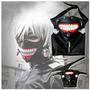 Tokyo Ghoul Set De Lujo Mascara Y Esposas Cosplay Importados
