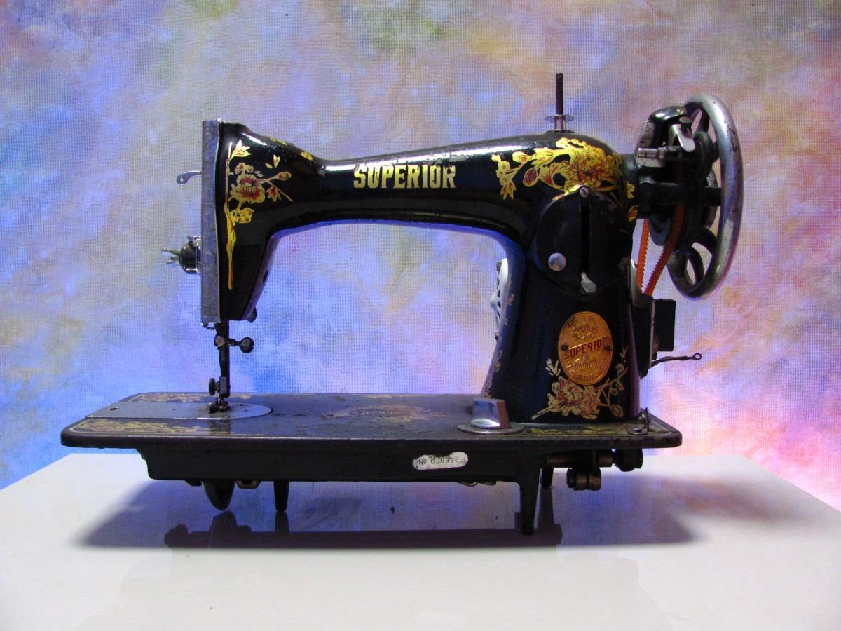 Manual maquina de coser singer 966 for Maquinas para toldos enrollables