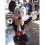 Alcancia De Mikey Mouse Antigua En Caucho Mediana