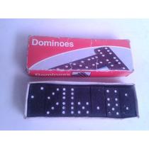 Antiguo Domino Miniatura En Madera..3.7cm Largo,1.7cm Ancho