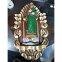 Repisa Antigua Quiteña Madera Cedro Con Laminilla San Judas