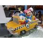 Alcancia De Disney Plastica De Taxi De Colección