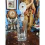 Licorera Antigua Italiana Bormioti En Cristal Con Tapa