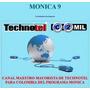 Programa Mónica 9 - Nuevo Dvd:original,sellado, Etc.$399.000