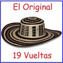 Sombrero Vueltiao De 19 Vueltas 100% Original