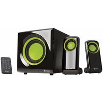 Sistema Audio Multimedia 2.1 Canales, Con Lector De Memorias