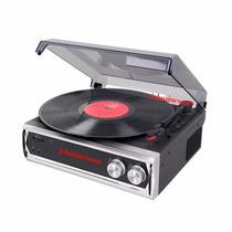 Tocadisco De 3 Vel.33-45-78 Stereo Usb Software Full Rca Eu