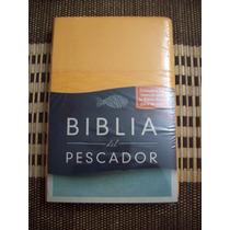 Biblia Del Pescador Rvr60, Damasco Simil Piel