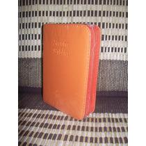 Biblia Rvr60 Imitacion Piel Naranja Cierre