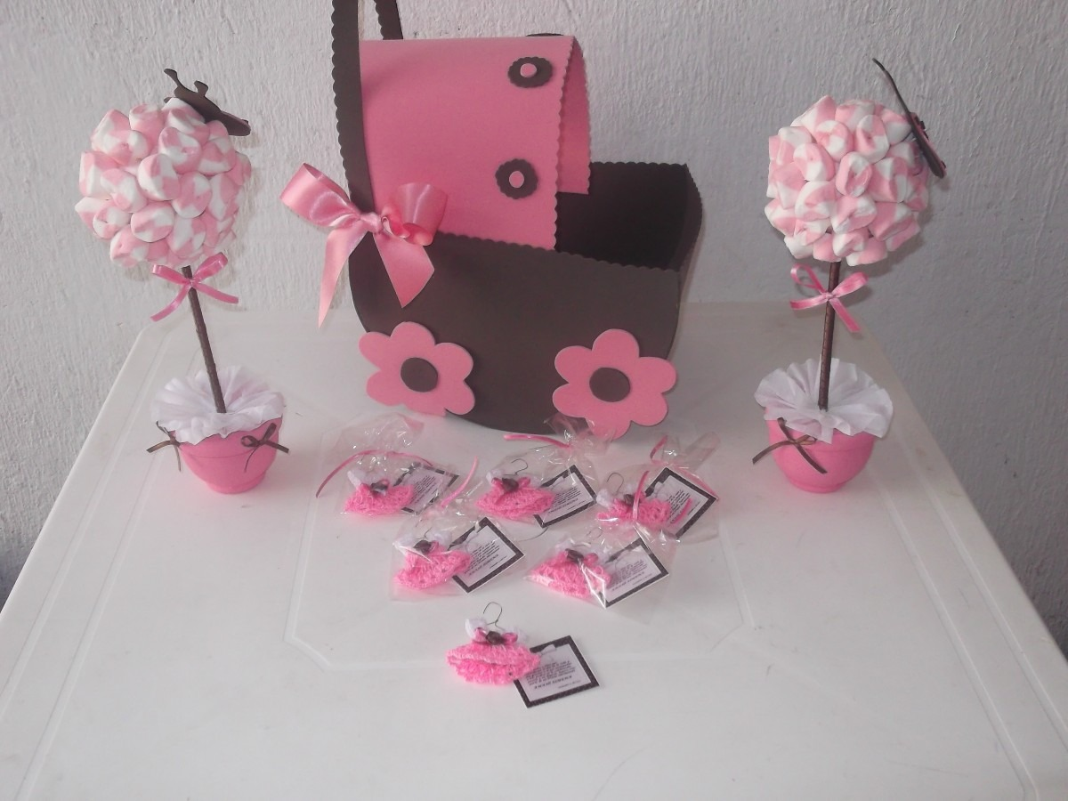Centros de mesa comestibles para baby shower imagui for Centro de mesa baby shower