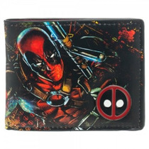 Billetera Bioworld Deadpool Comic Para Hombre
