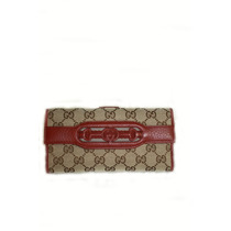 Billeteras Gucci Leather Ifs Para Mujer