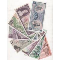 Gran Coleccion De 8 Billetes De Colombia Por Solo $ 22000