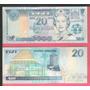 Billete De Fiji 20 Dolares 2002