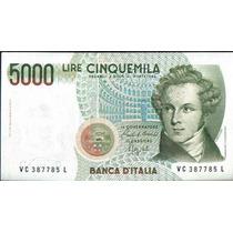 Italia 5000 Liras 4 Ene 1985 P111b