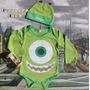 Body Mameluco Mike Wazowzki Bebé Monster Inc + Obsequio