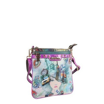 Bolso Nicole Lee Grafico Print Crossbody Messenger Femenino