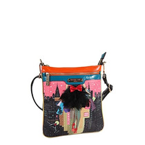 Bolso Nicole Lee Graphic Print Crossbody Messenger Femenino