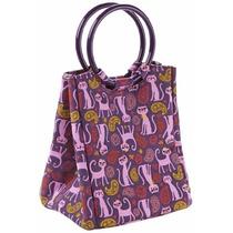 Bolsa De Almuerzo Con Aislamiento Fit-&-fresh -púrpura