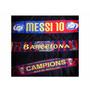 Bufanda Barcelona Messi Neymar Importadas // 20 % Descuento