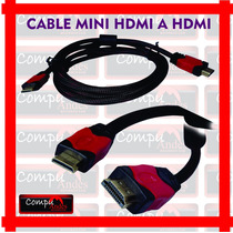 Cable Mini Hdmi A Hdmi 1.8m / 3100