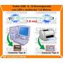 Cable Usb Con Leds Multicolor Para Impresoras 1,8m Zcus18l