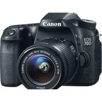 Canon 70d Kit 18-135 Stm 20mpx Full Hd Wifi 7d Jirehdigital