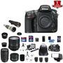 Nikon D800e Dslr Camera 7 Lens 24-85mm 70-300mm 50mm 32gb