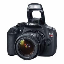 Camara Eos Canon T5 Kit Lente 18-55