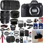 Canon Eos 6d + 28-135 Usm + 75-300 Iii + 50 1.8 Ii + 24gb