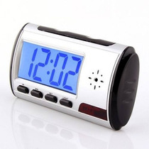 Reloj Alarma Despertador Dvr Hd Control Espia Sensor Camara