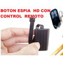 Boton Espia T186 Video Foto Sensor Movimiento Larga Duracion