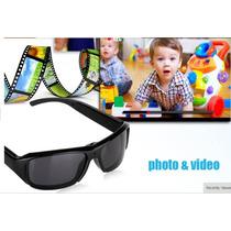 Gafas De Sol Con Camara Espia-video Hd-fotos-lente Oscuro