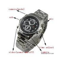 Reloj Espía Metalico Con Camara Oculta 8 Gb