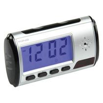 Reloj Despertador Espía Con Sensor De Movimiento