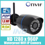 Camara Ip Wifi 1.3mp Bullet Ip Waterproof Visión Nocturna