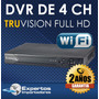 Cctv Dvr Para 4 Camaras Truvision No Ip ! Full Hd