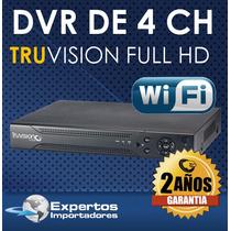Cctv Dvr Para 4 Camaras Truvision No Ip ! Full Hd