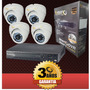 Cctv Kit 4 Camaras De Seguridad+dvr+balun Precio Insuperable